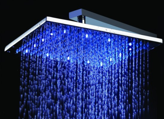 LED Shower Head eclectic showers