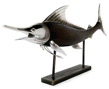 Swordfish beach-style-decorative-objects-and-figurines