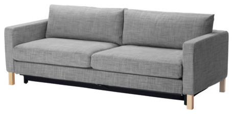 Karlstad Sofa Bed, Isunda Gray - modern - sofa beds - by IKEA