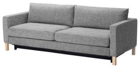 Karlstad sofa bed isunda gray scandinavian sofa beds for Scandinavian sofa bed