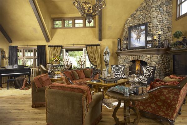 Minnesota Ranch Home traditional