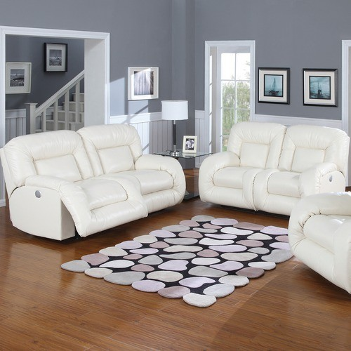 AC Pacific Furniture Bruno Bonded Leather Double