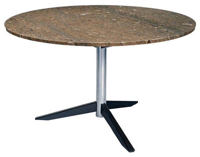 Round Italian Mid Century Marble Dining Table Modern Dining Tables