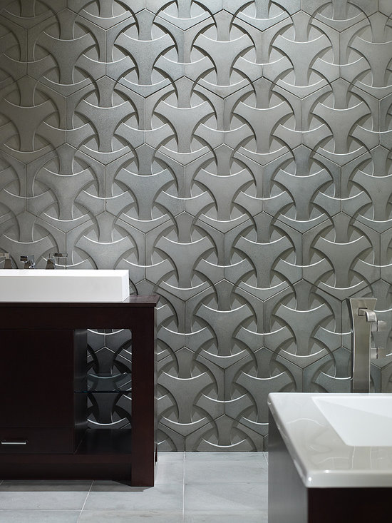 Concrete - Dimensional Concrete Tiles - suitable for indoor or outdoor applications