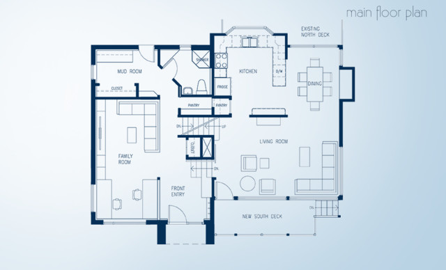 collingwood split level floor plan after main floor bauhaus look grundriss other metro. Black Bedroom Furniture Sets. Home Design Ideas