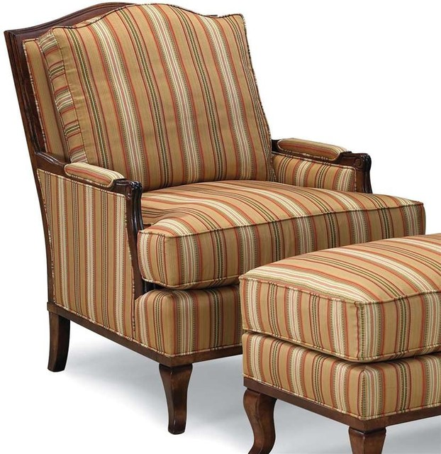 Lounge Chair w Loose Back and Seat traditional-armchairs-and-accent-chairs