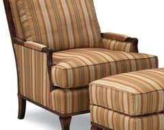 Lounge Chair w Loose Back and Seat traditional-accent-chairs