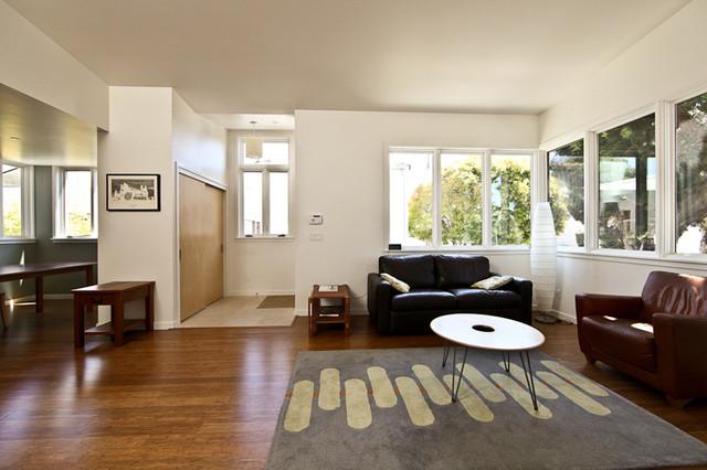Spokane Ave., Albany, CA Residence modern-living-room