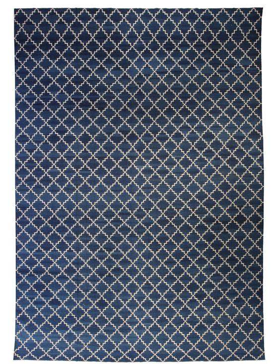 Unique modern rugs - Crimson Blue N10389