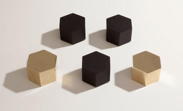 Hex Paperweight modern-desk-accessories