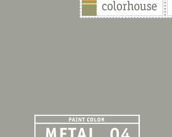 Colorhouse METAL .04 - METAL .04 is citron's best friend. This grounding neutral lets brighter colors take center stage. Try this color in living rooms and master suites.
