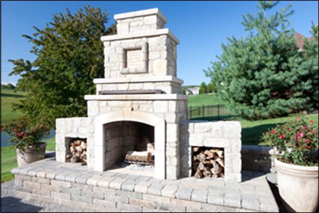 Serenity 300 Fireplace modern-firepits