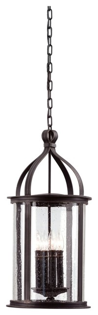 """Scarsdale Collection 25 3/4"""" High Outdoor Hanging Light contemporary-outdoor-hanging-lights"""