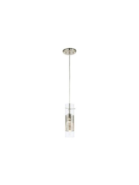 Access Lighting Spartan Brushed Steel Pendant Chandelier -