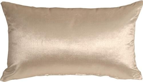 Pillow Decor - Milano 12 x 20 Cream Decorative Pillow contemporary-decorative-pillows