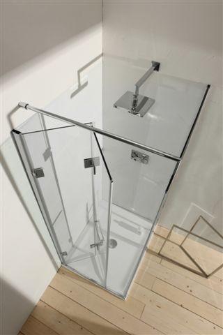 Glass Infold Door Contemporary Shower Doors By Galbox