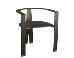 Architectural Iron Chair | Wisteria modern-accent-chairs