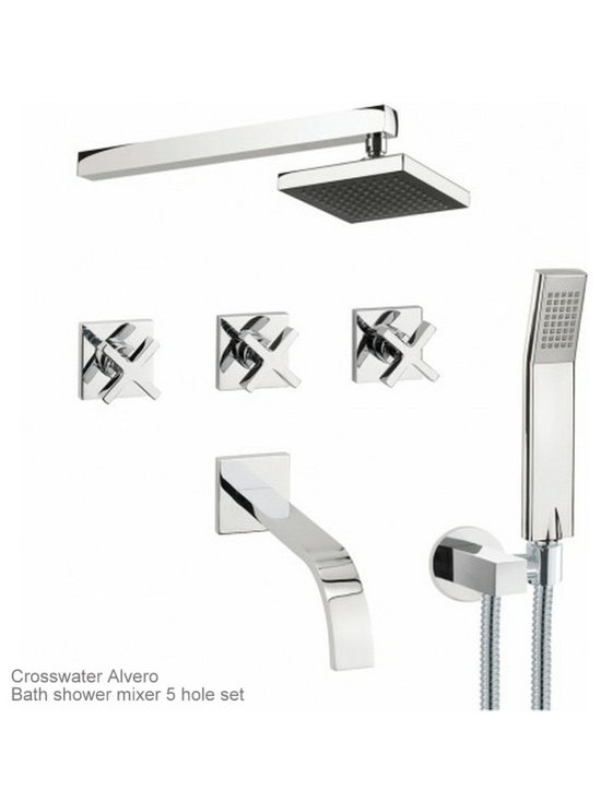 Crosswater Alvero Showers - Brassware by Crosswater from the Alvero range.