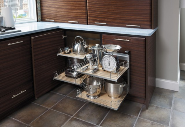 Getting Organized with Fieldstone Cabinetry kitchen-cabinetry