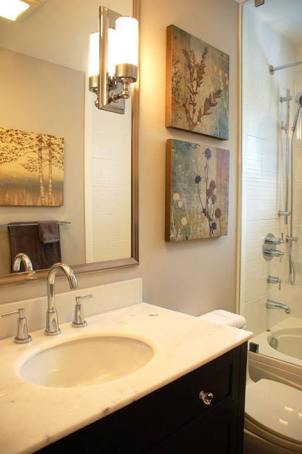 Kate Davidson Design Inc contemporary bathroom