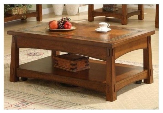 Craftsman Home Lift Top Cocktail Table Contemporary Coffee Tables By Ivgstores