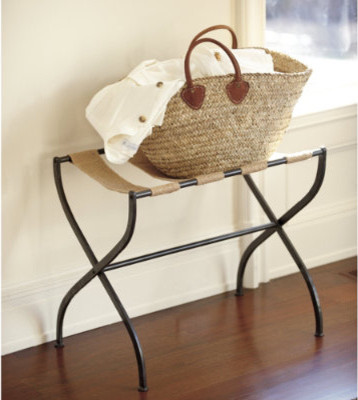 Gaspar Luggage Rack | Furniture | Ballard Designs  bedroom benches