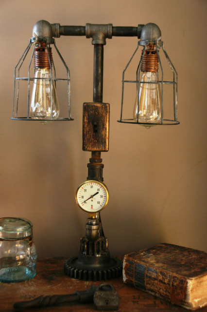 industrial - Steampunk table lamp industrial-table-lamps