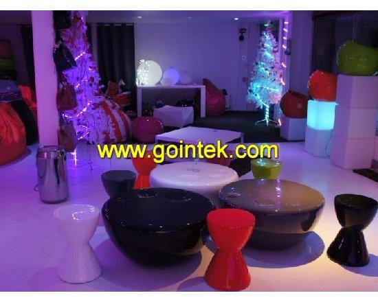 led stool for bar seat -