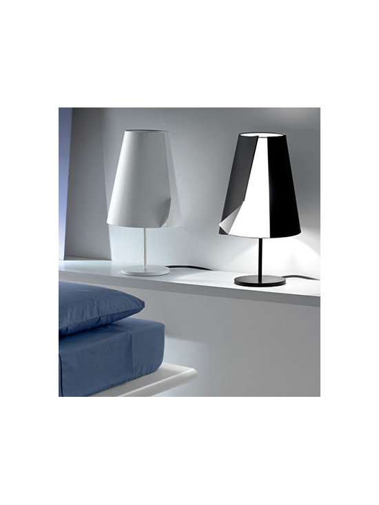 GUARDIAN TABLE LAMP BY PALLUCCO LIGHTING - Guardian Table Lamp by Pallucco is a classic designed fixture with an innovative diffuser design.