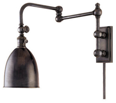 Alburndale swingarm adjustable sconce transitional swing arm wall lamps tampa by barn Beautiful swing arm wall lamps and sconces