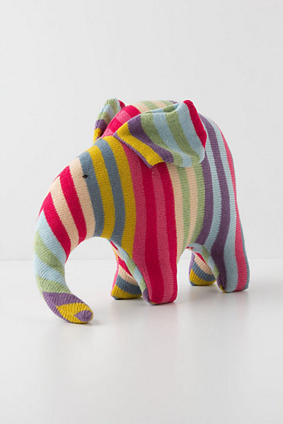 Confectionary Wool Elephant contemporary kids toys