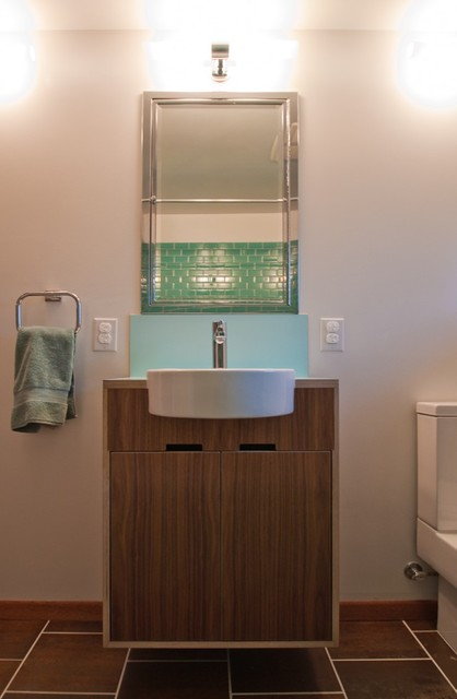 Roberts Vanity Modern Bathroom Seattle By Kerf Design