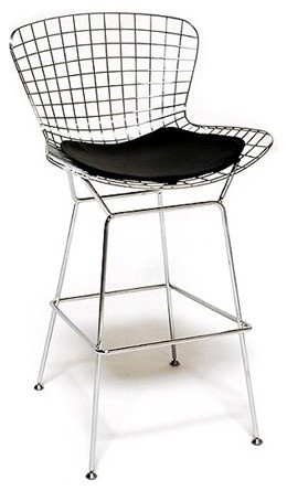 Wire Bar Stool Chair Contemporary Bar Stools And