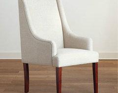Linen Hayden Dining Chair modern-dining-chairs