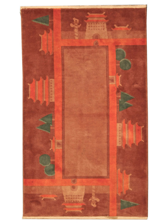 Timeless Chinese Rugs - A Chinese Deco rug