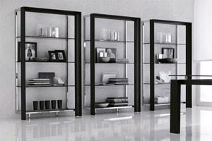 Miami Modern Bookcase By Tonin Casa traditional-bookcases