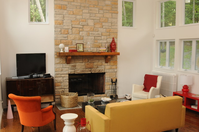 Fireplaces & Mantels traditional-indoor-fireplaces