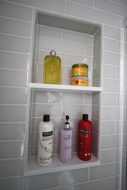 A Compact Bathroom Recovers From Water Damage