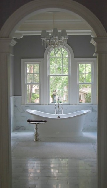 The Bath in Stone and Tile tile