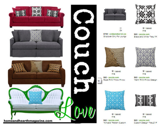 Great Pillows Make For a Comfy Couch -