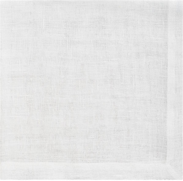 Uno White Linen Napkin traditional table linens