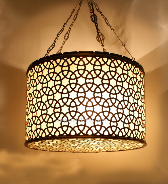 Ottoman Style Pendant Lampshade - Lamp Shades - other ...