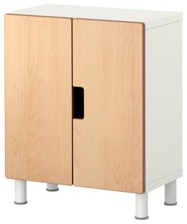 STUVA Storage combination with doors - Scandinavian - Kids Dressers And Armoires - by IKEA