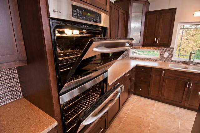 unique kitchen windows between cabinets contemporary kitchen