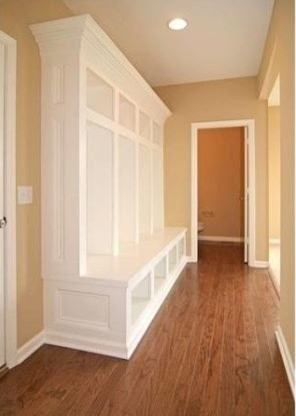 What Ikea pieces were used for this mudroom cabinet?