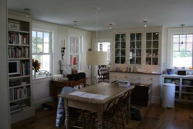 Ackerman Residence Renovation/Addition Norwich VT traditional-kitchen