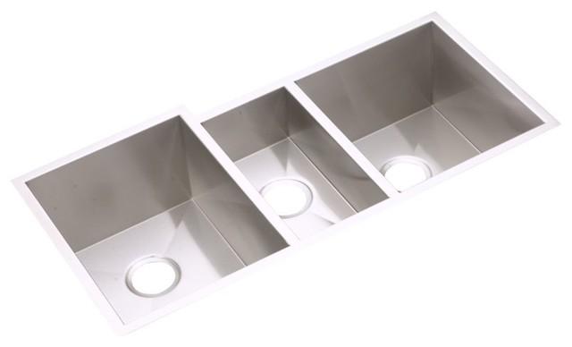 Elkay Avado Undermount Triple Bowl Kitchen Stainless Steel Sink ...