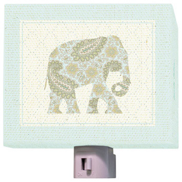 Annette Tatum Night Light Exotic Elephant asian-night-lights
