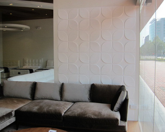 Textured wall coverings - WallArt brings your walls to life with modern and contemporary wall panel designs. Our interior decorative 3D wall panels are made from natural plant fibres from crushed sugarcane stalks remaining after the raw sugar is extracted from the sugarcane . The shredded raw material is called bagasse. This forms the base of this easily installed Eco friendly textured wall panels. The raw material used for our dimensional wall panels is 100% recyclable, compostable and is therefore 100% biodegradable.