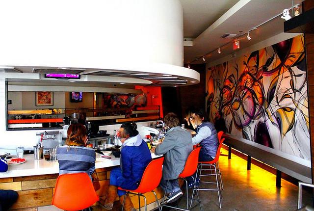 Santa Monica Shabu Shabu contemporary-dining-room